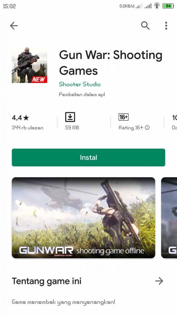 game offline perang