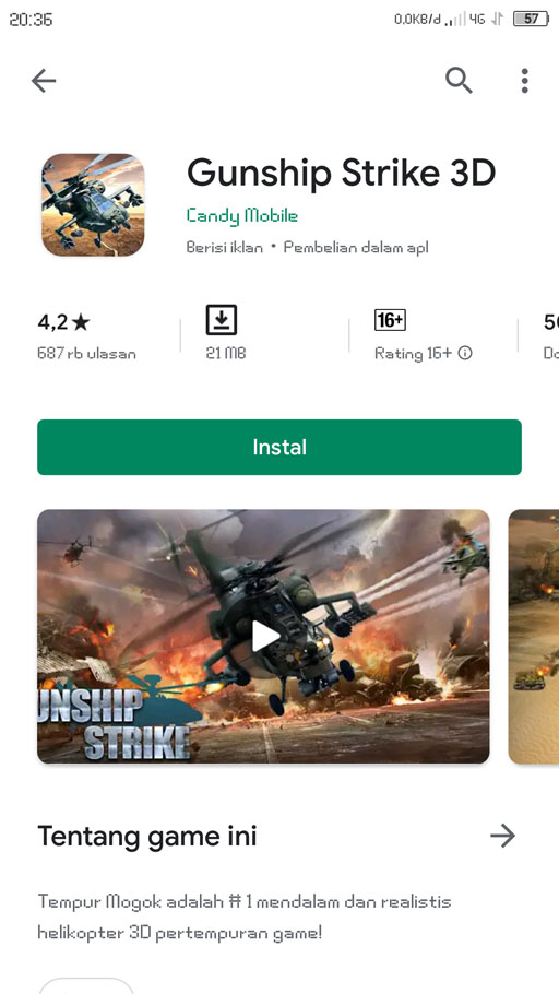 gunship strike 3d game pesawat tempur