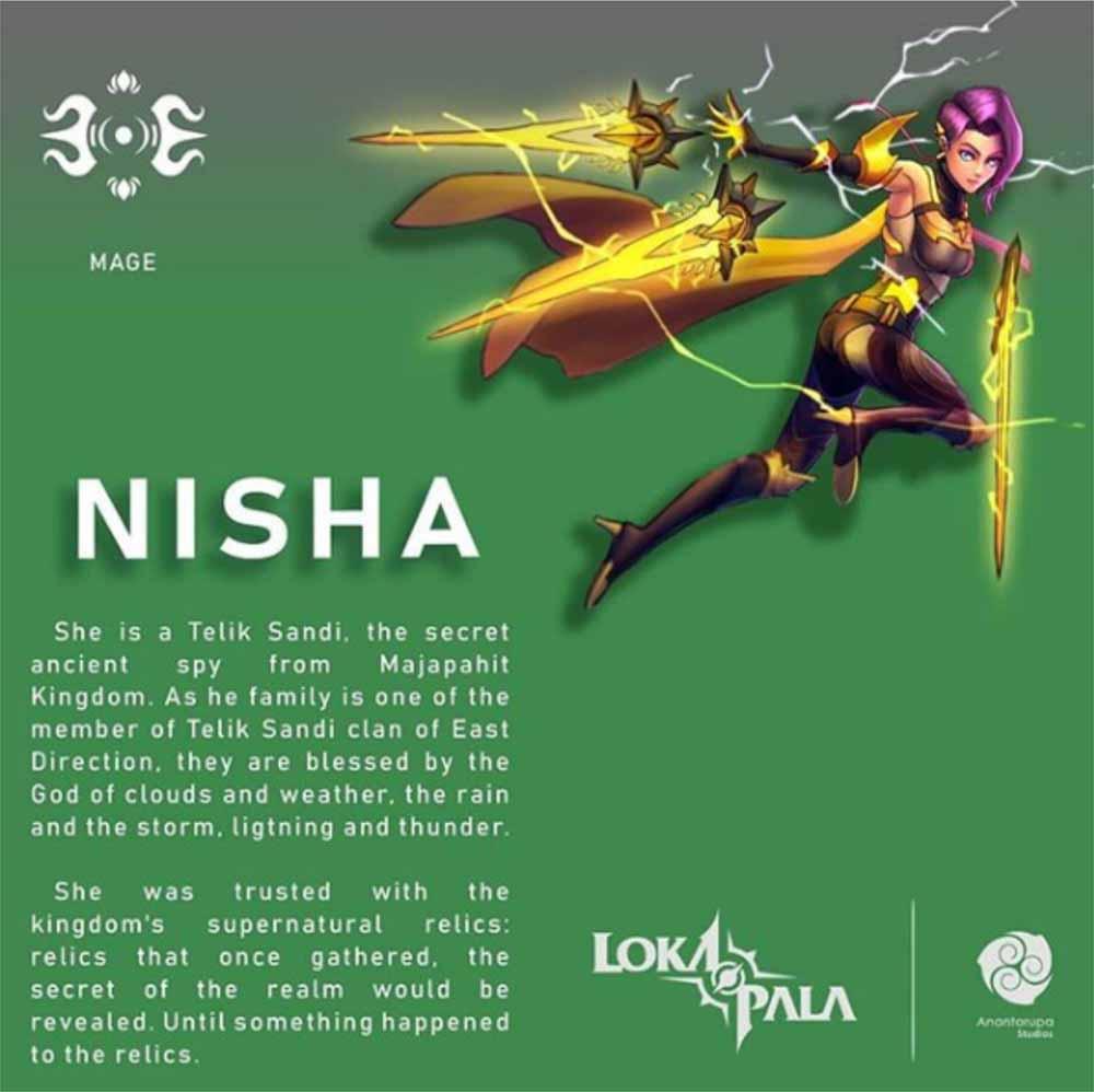 nisha lokapala