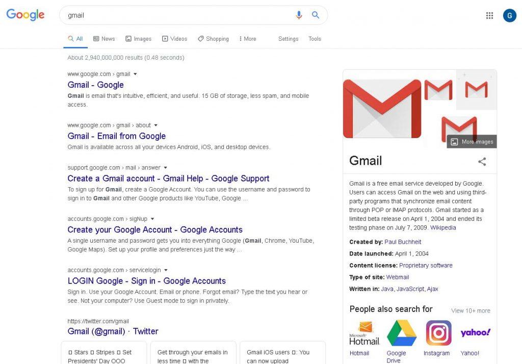 cara daftar akun gmail baru