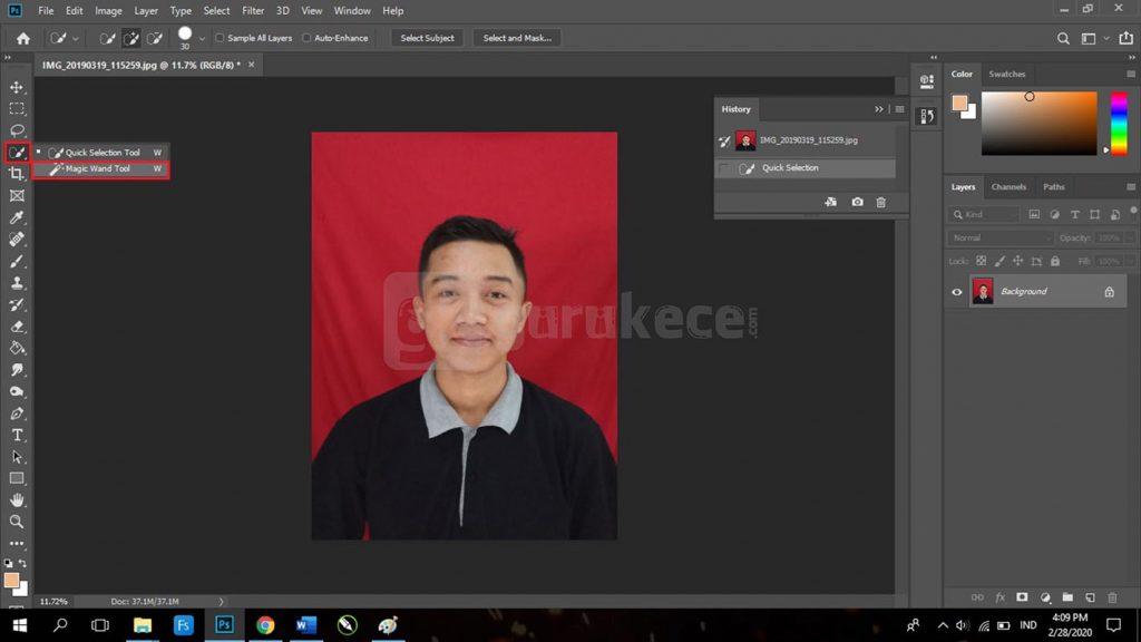 4 Cara Menghapus Background Di Photoshop Cepat Mudah Lengkap