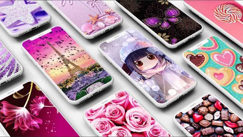 girly wallpaper aplikasi wallpaper