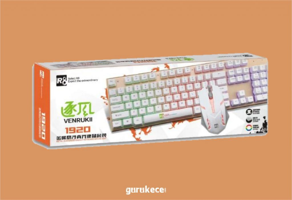 r8 km 1920 combo keyboard gaming murah