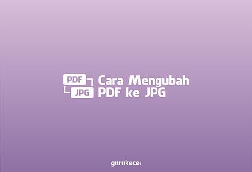 cara mengubah pdf ke jpg