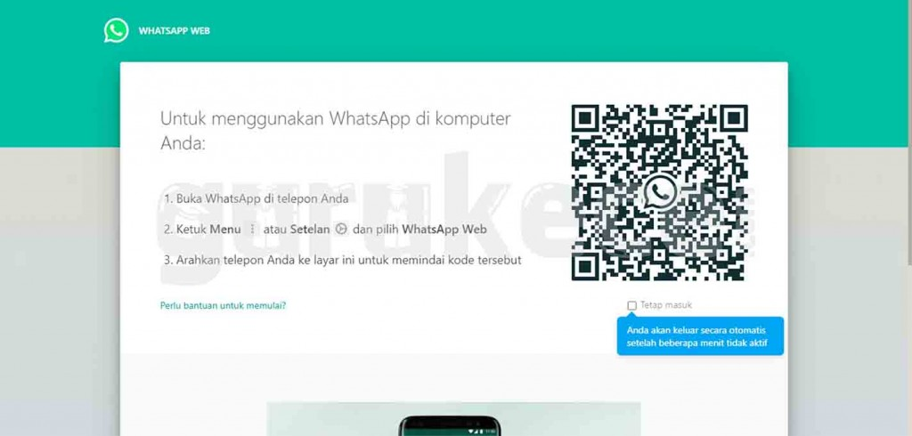 cara install whatsapp di laptop